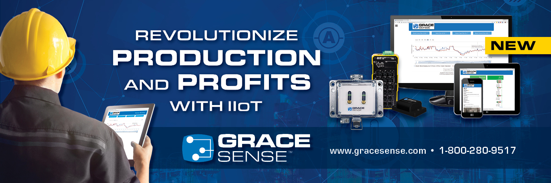 IIoT Predictive Maintenance System banner for GraceSense
