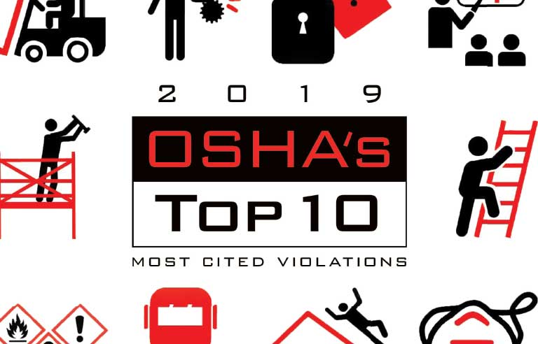 OSHA top ten citations loto