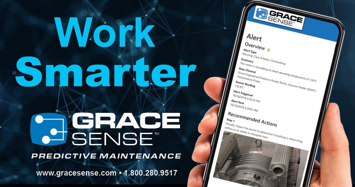 Web based app for GraceSense Maintenance Hub