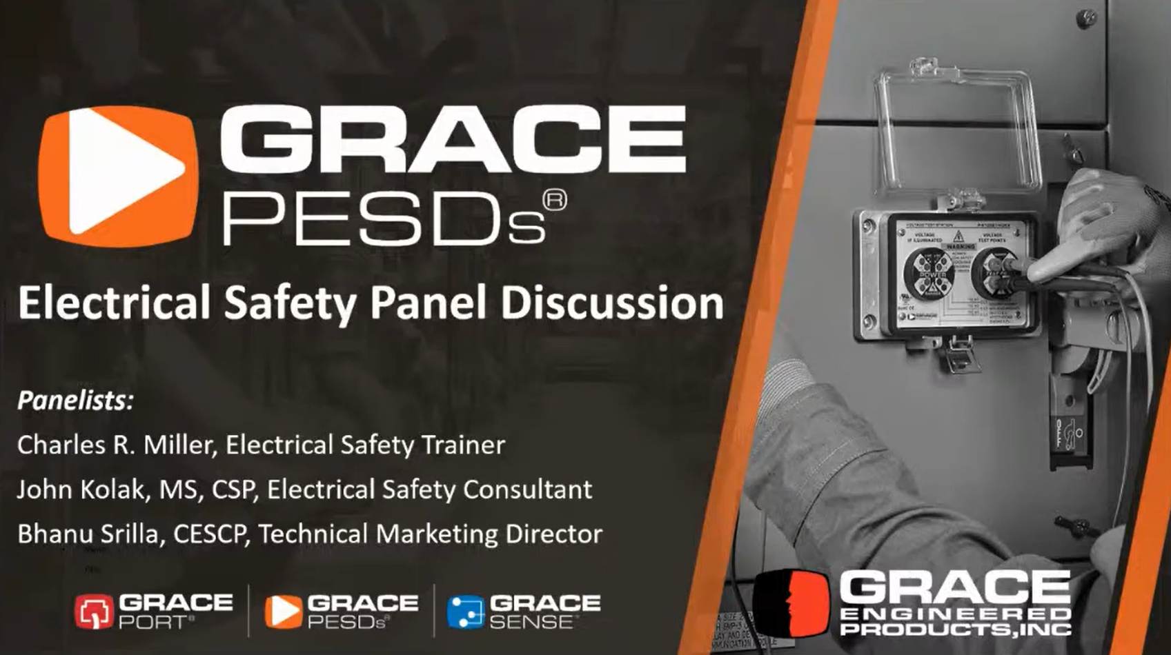 GracePESDs Electrical Safety Panel Discussion